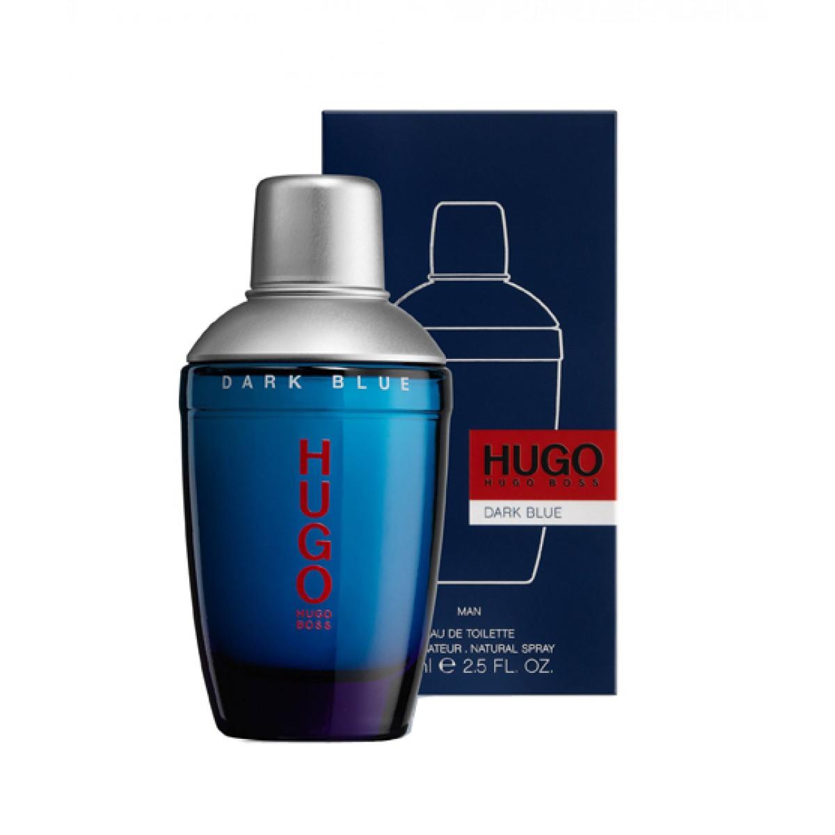 Hugo Boss Dark Blue Man Edt 75ml Fehilys
